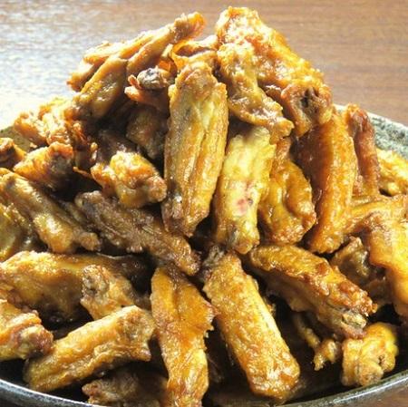 池袋の鶏料理専門店[とりいちず]の絶品手羽唐