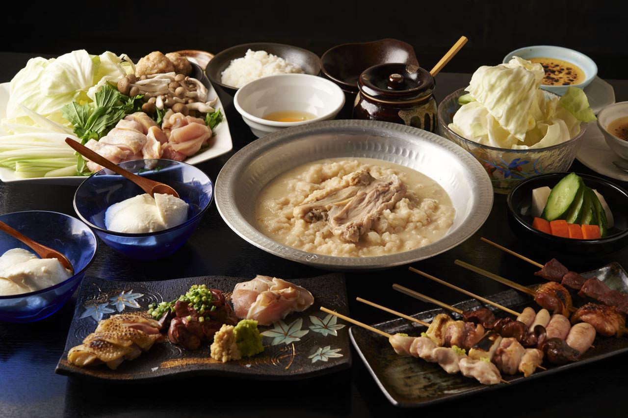 とりいちず 池袋東口店の鶏料理が満喫できるコース