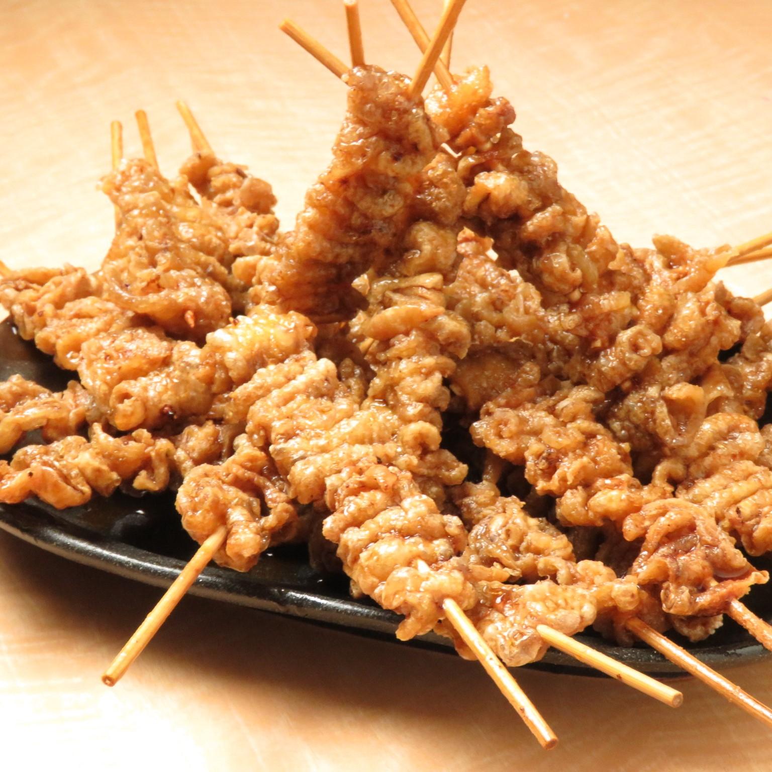 池袋の鶏料理専門店[とりいちず]の絶品とり皮